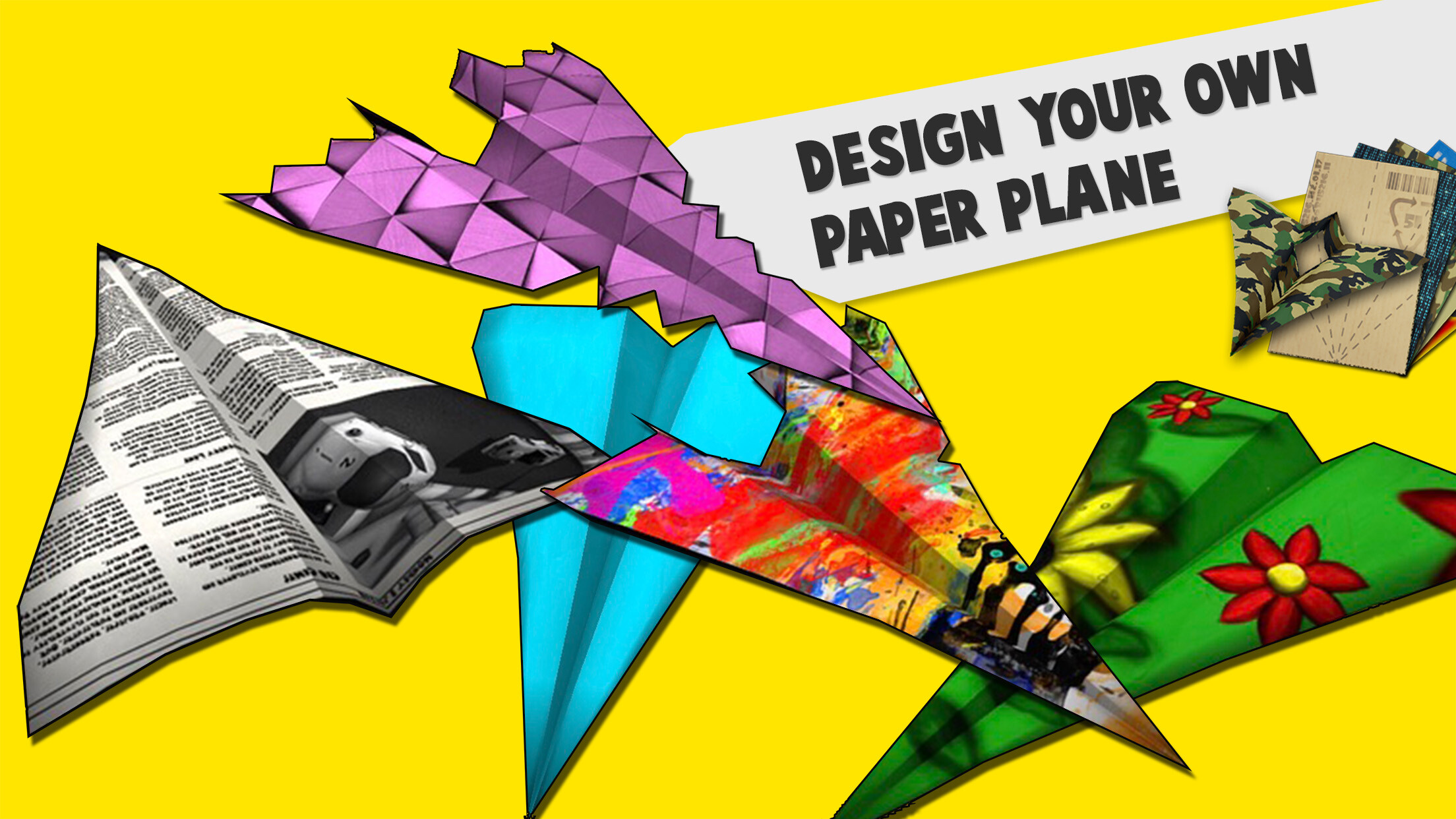 folded flyer screenshot